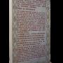 Stele de bienfaisance reconnaissant Georges Charles comme héritier officiel de l'école de Wang Zeming et de Guo Yunshen
