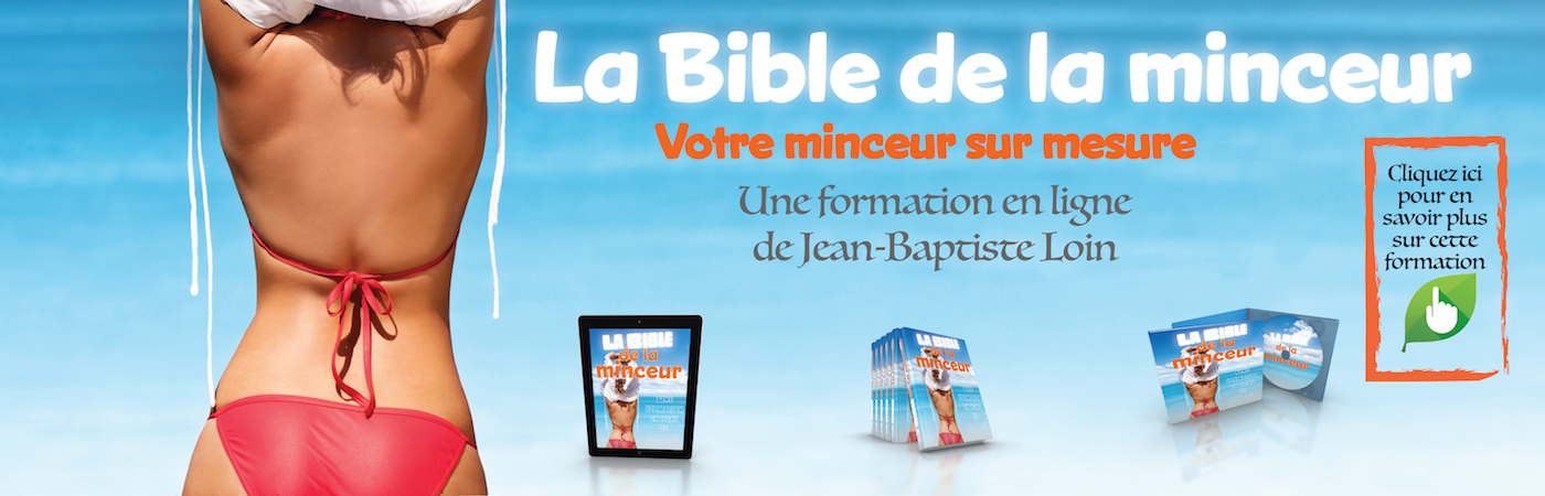 La bible de minceur